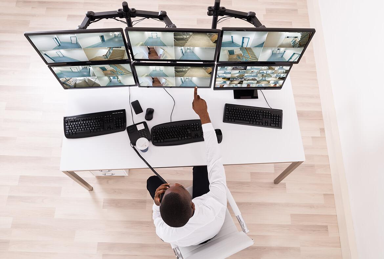 CCTV Surveillance 24×7 Monitor